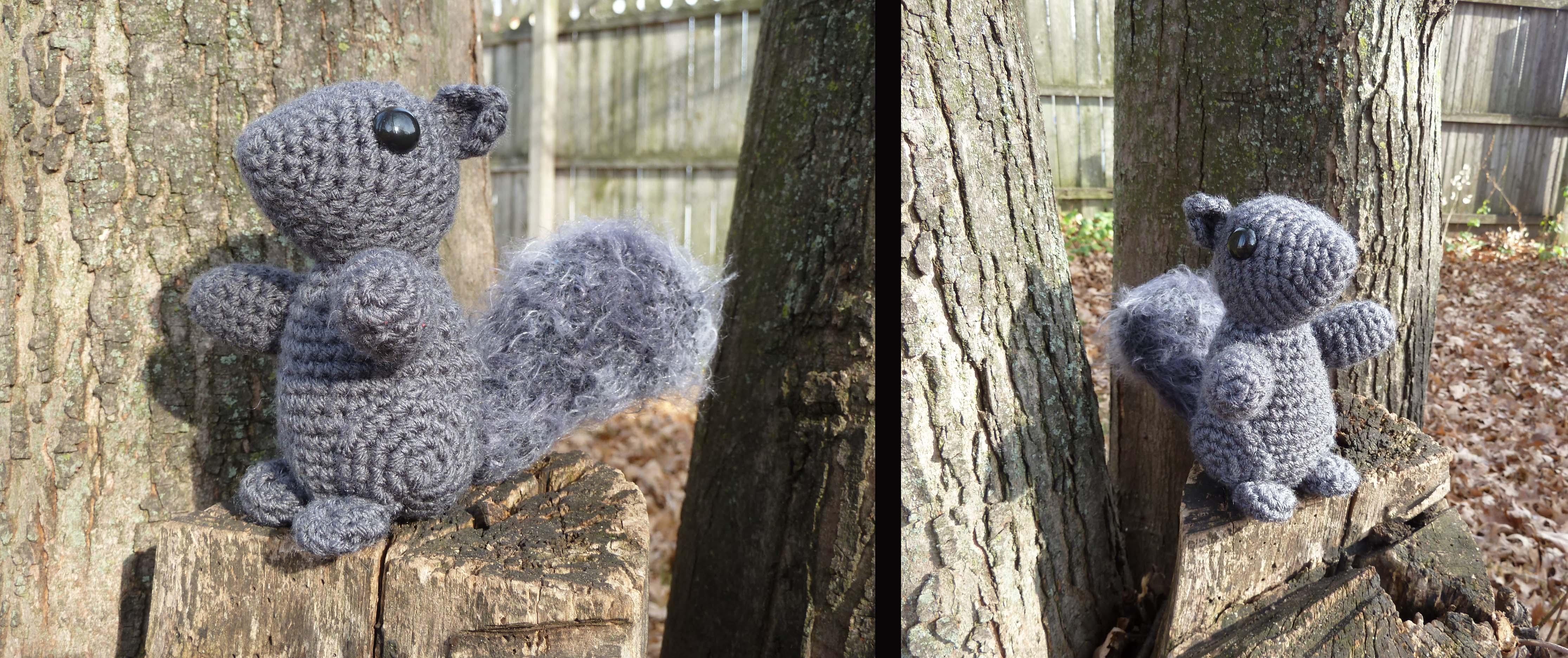 Amigurumi Squirrel Crochet Pattern : Squirrel Amigurumi by bandotaku on DeviantArt
