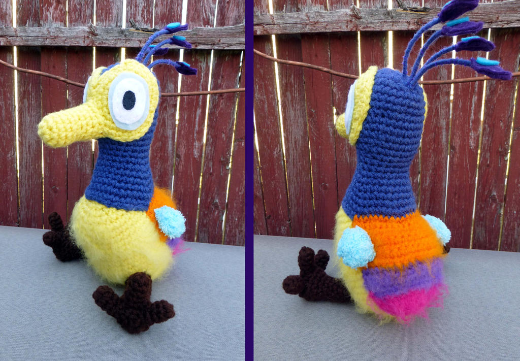 Baby Kevin the bird from UP by bandotaku