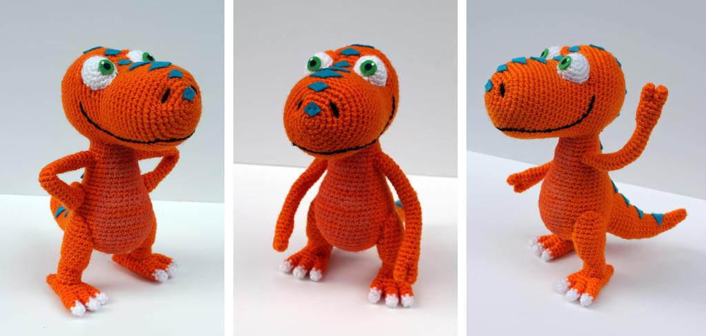 Buddy: Dinosaur Train Amigurumi by MilesofCrochet on ...