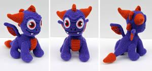 Miles of Crochet Amigurumi — Spyro the dragon amigurumi. <3 ... | 140x300
