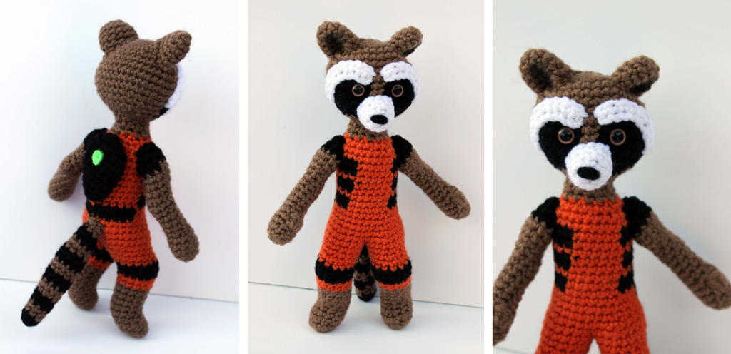 Cuddle Me Raccoon amigurumi pattern | Crochet toys patterns ... | 496x1024
