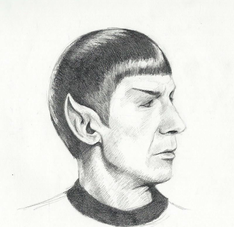 Spock by bandotaku