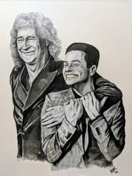 Rami and Brian, Golden Globes