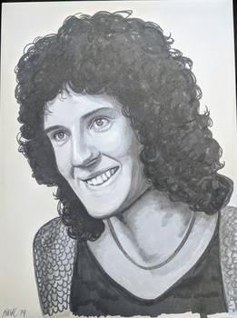 Brian May, 1973