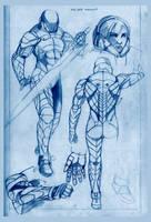 Aranaeic Armor Design by Razekiel