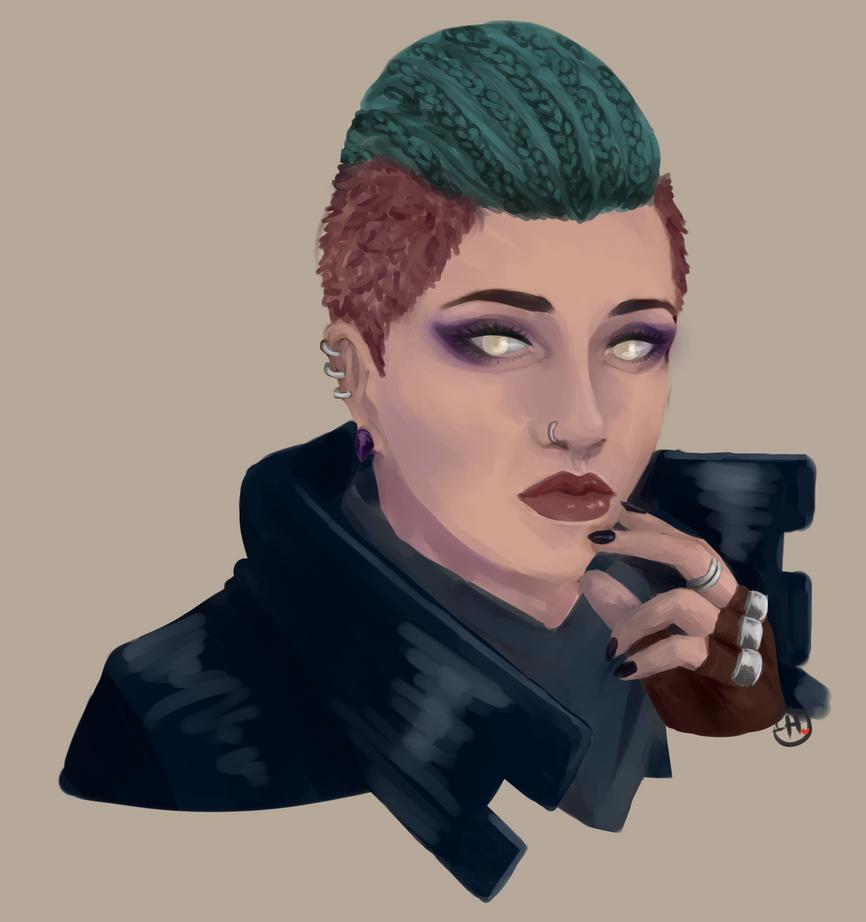 Post Apo Portrait by Histunie