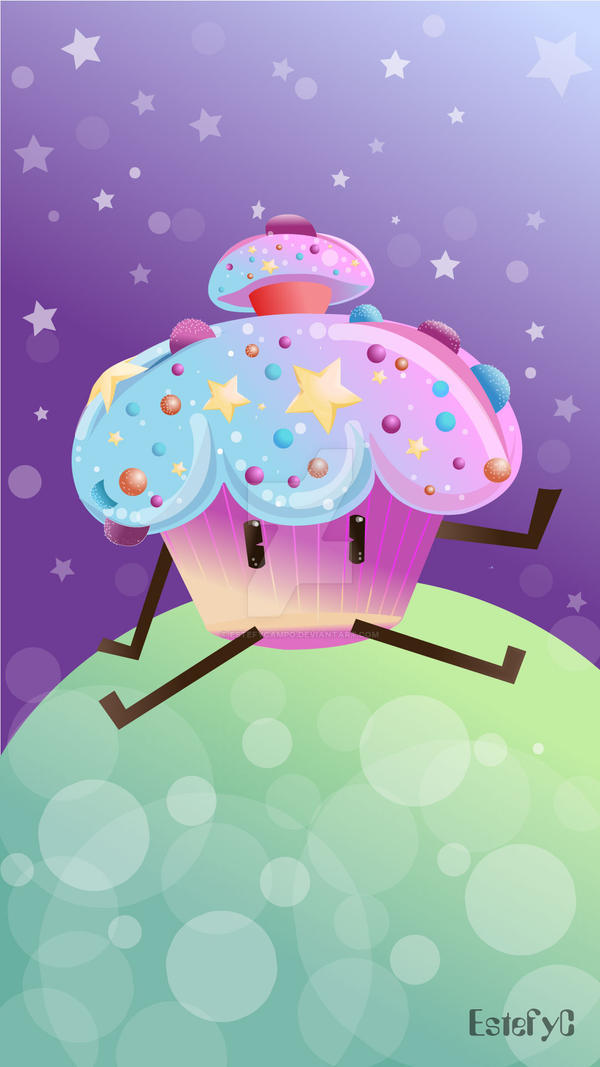 Cupcake by Estefycampo