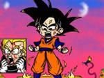 Goku and Vegeta VS Kid Buu