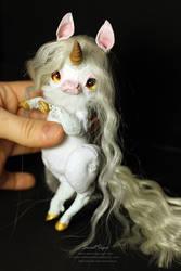 White Unicorn by SweetSign