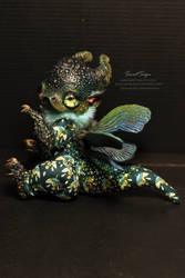 Chameleon Dragon by SweetSign