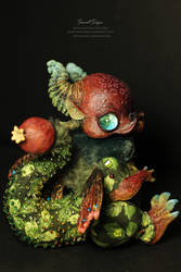Pomegranate Dragon by SweetSign