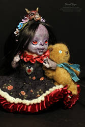 Lillith, Theodor and Sunny the teddy bear by SweetSign