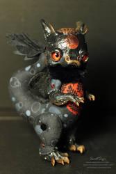 Bloodmoon Dragon by SweetSign