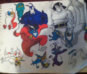 Classic cartoon chaos mark II.