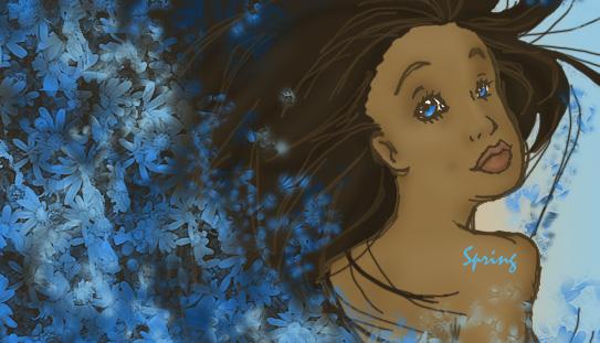 Spring by art1amc