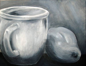 Cup and Pear