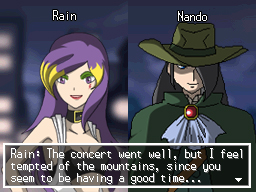 Fake Xtransceiver: Rain and Nando by The-Last-Silver-Moon