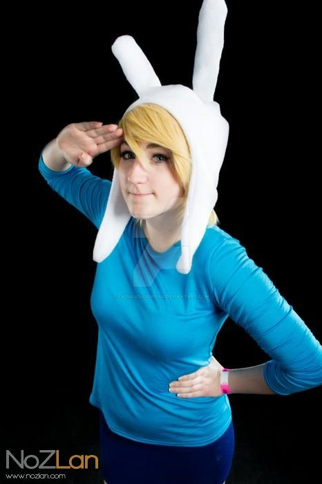 Fionna the Human p.1 by Catulus-Cosplay