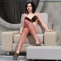 Attitude chair by Lynxander
