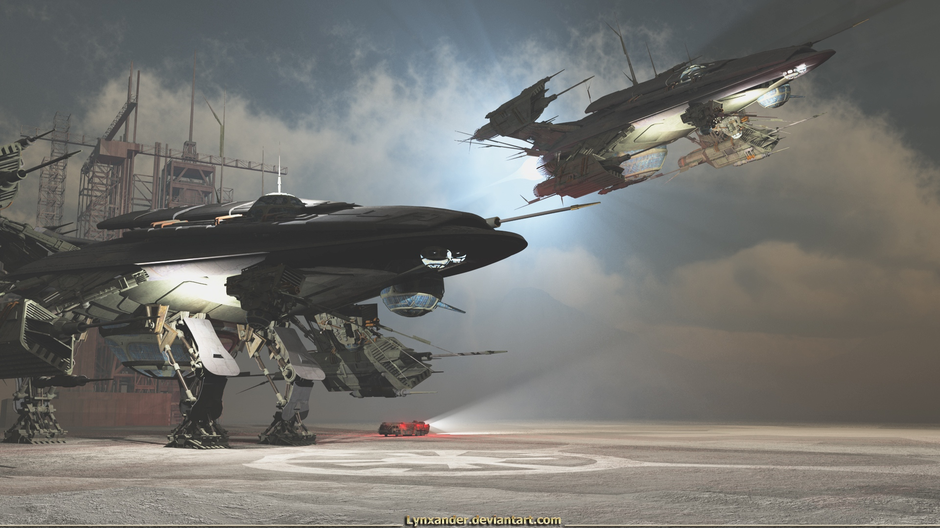 Promethean Campaign by Lynxander