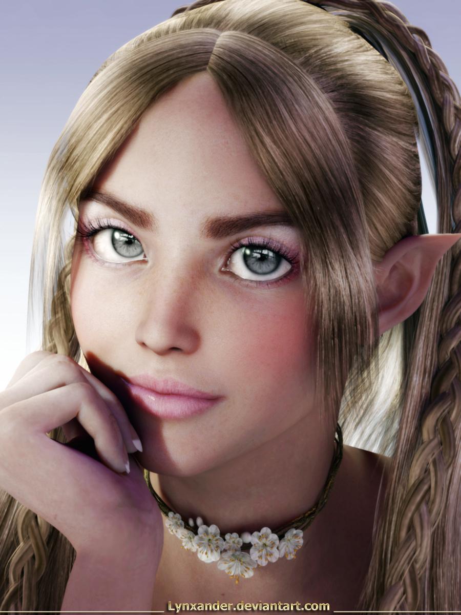 Blond Elf