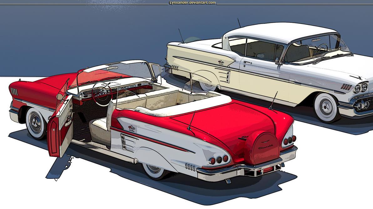 Impala 1958 by Lynxander