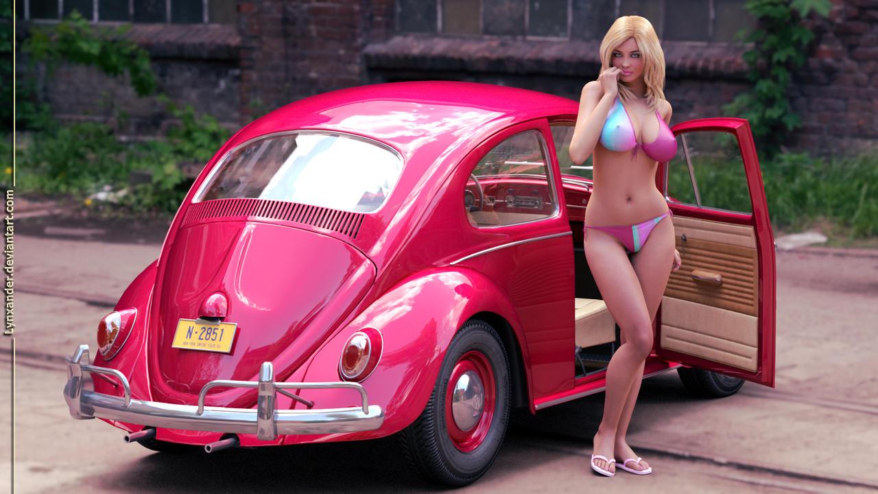 Bikini show vw bugs also