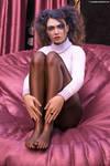 Fanny sits