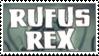 Rufus Rex Stamp by TruHorror