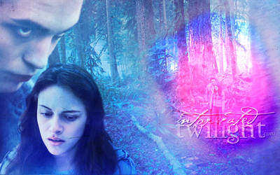 Bella and Edward In The Forest by lilith77