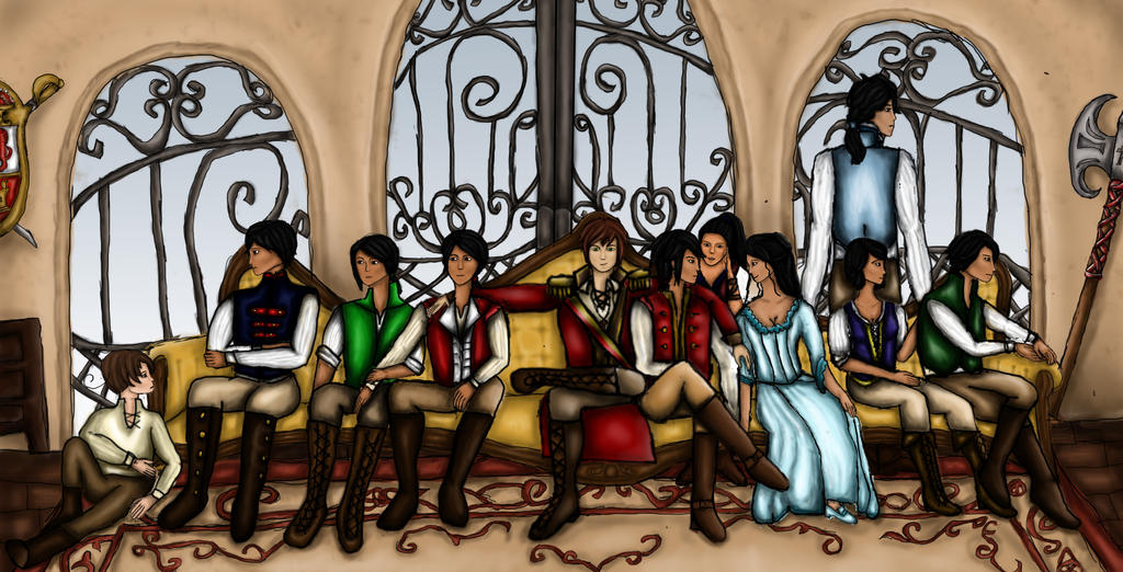Gods and Monsters (APH Spanish Empire) by sailorgreywolf on DeviantArt