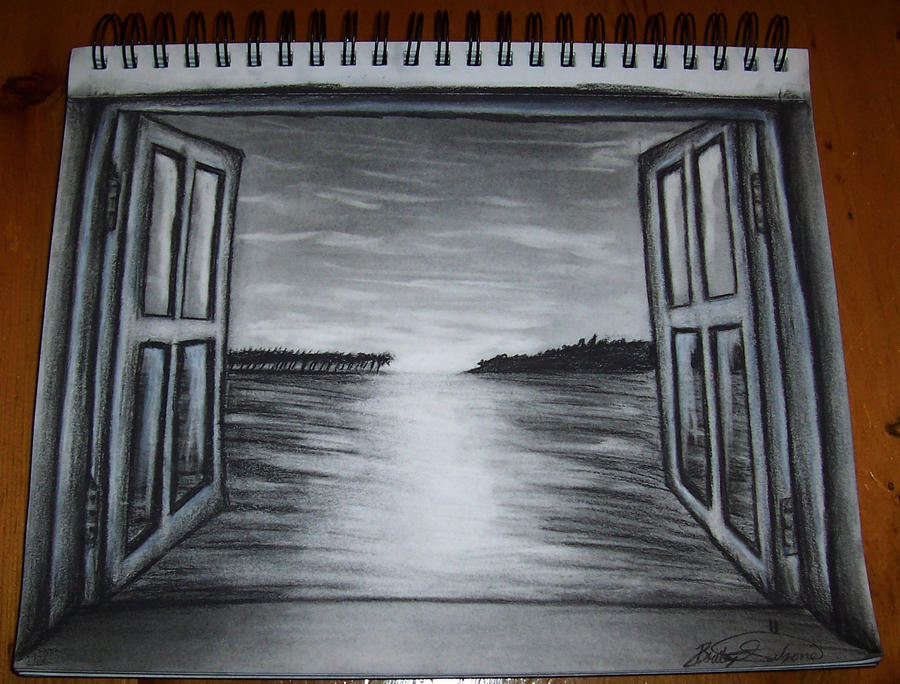 Looking Through A Window By Xxfallennightxx On Deviantart