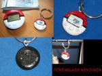 Pokewalker Keychain