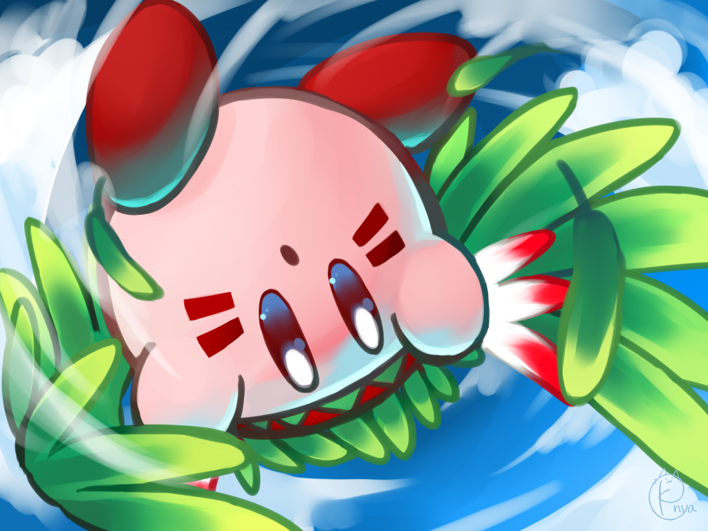 Nya Kirby Wallpaper
