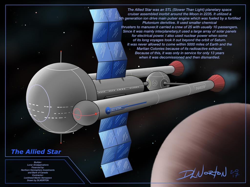 The Allied Star by DLNorton