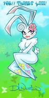 Bunni Bunny Butterflies by DLNorton