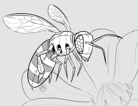 May Patreon Sketch - Buzz-zzt