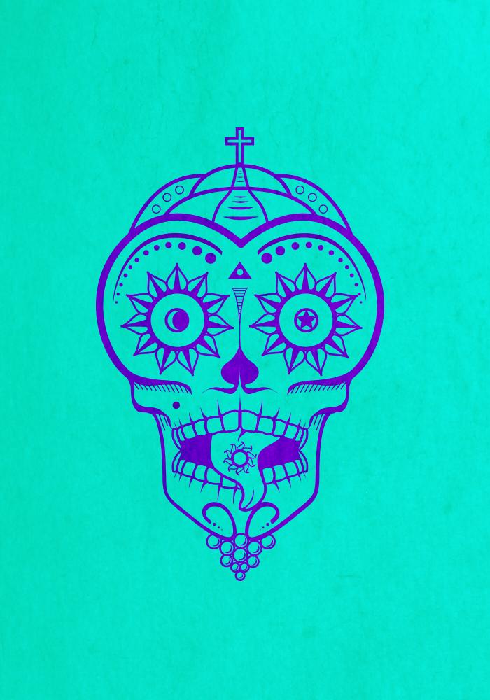 LCD Skull by darknez