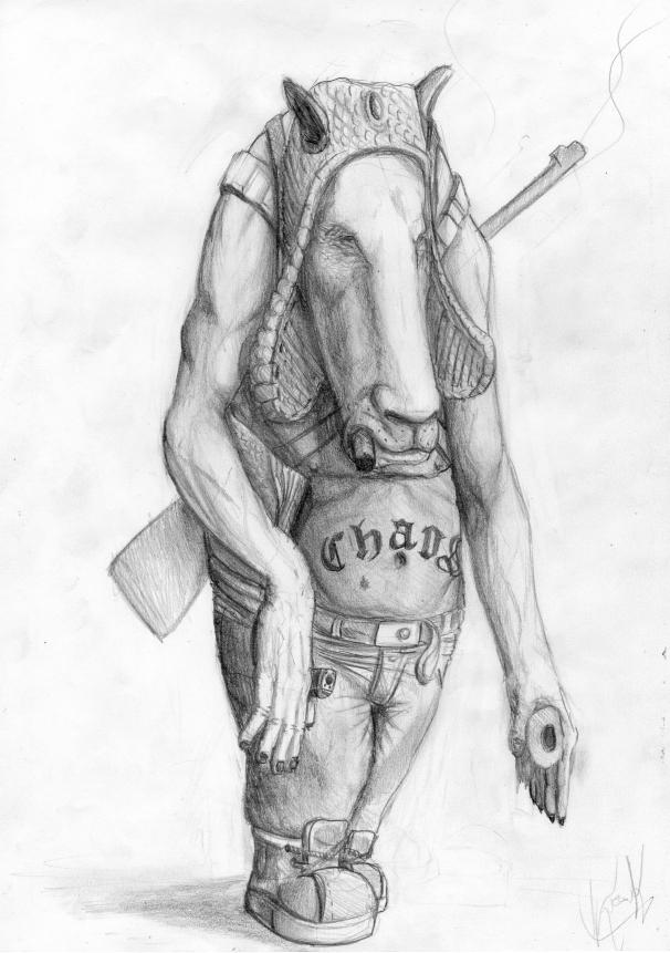 Sketch by darknez