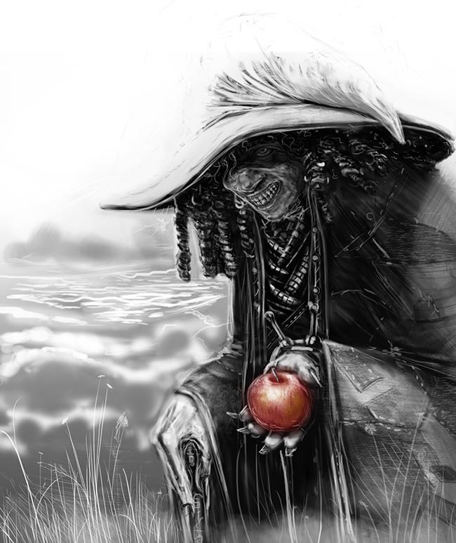 Witch by darknez