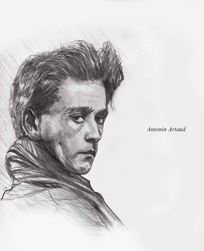 Antonin Artaud by darknez
