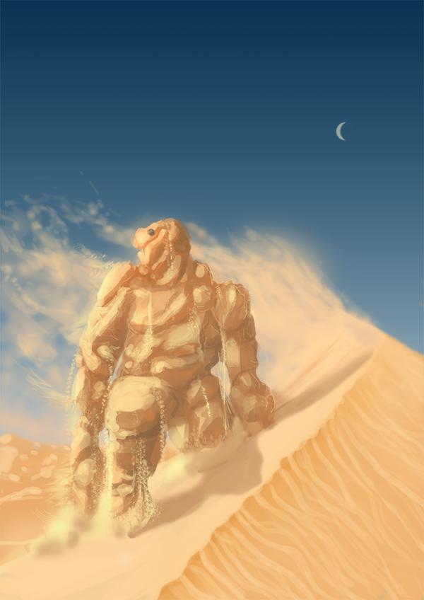 Dunes monster by darknez
