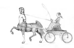 Like A Horse by centauressa