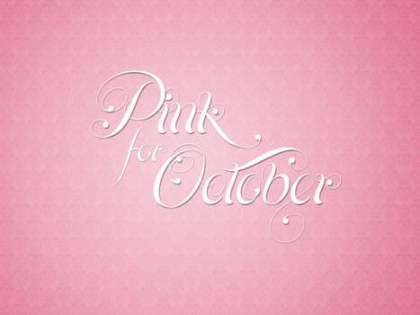 Pink for October 2011