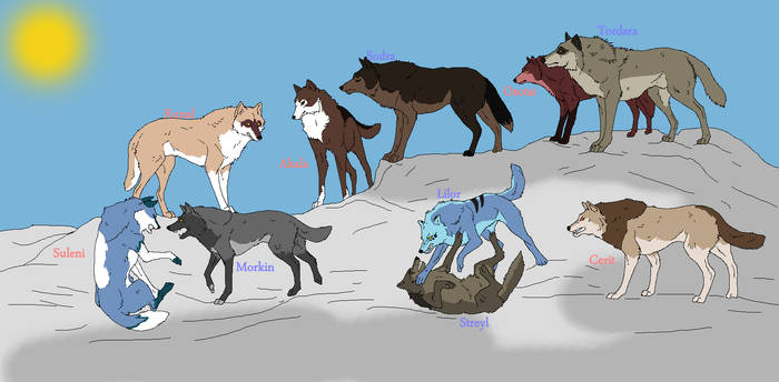 Wolf Breed Pack no. 1