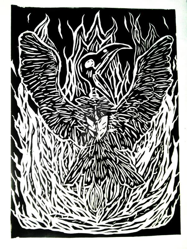 Rising Bird by Mxdmediem
