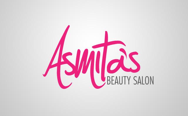 Asmita's Beauty Salon Logo Identity by MohsinFancy on ...