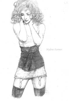 Mylene Farmer sketch