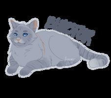 [WARRIOR CATS] Bluestar by nyo-mangata