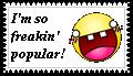 Popular Sarcasm Stamp by lady-warrior